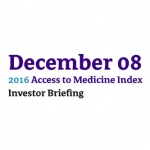 2016 Access To Medicine Index Investor Briefing Hosted By Kepler Cheuvreux
