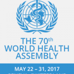Foundation Team In Geneva For 70th WHO World Health Assembly